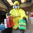 Monthly amnesty day for hazardous waste collection