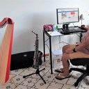 Working from home, science and saxophones!