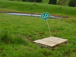 Stormwater Go sign.
