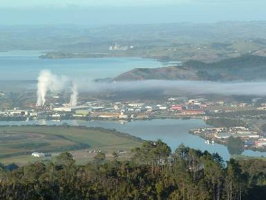 Industrial emissions in the Whangarei airshed.