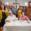 Patuharakeke, councils sign important resource management agreements