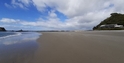 Mangawhai Heads beach.