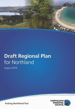 Draft Regional Plan cover.