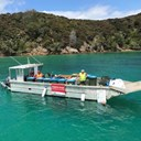 Rubbish barge back for boaties in Bay of Islands